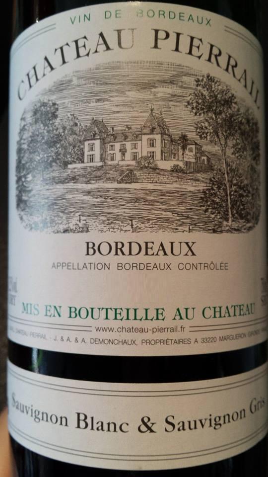 Château Pierrail 2011 – Bordeaux