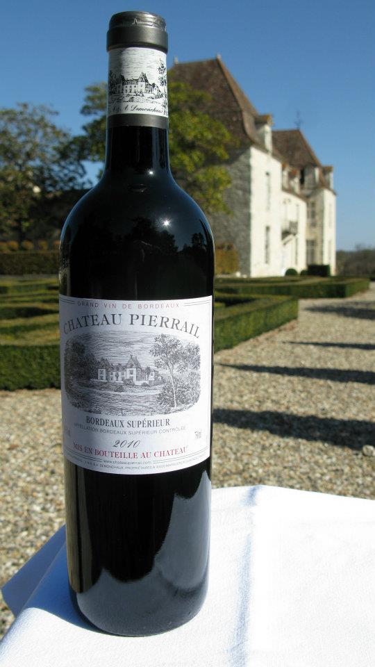Château Pierrail 2010 – Bordeaux Supérieur