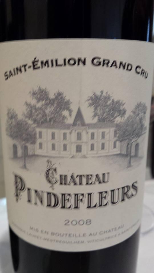 Château Pindefleurs 2008 – Saint-Emilion Grand Cru