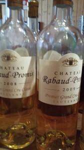 Château Rabaud-Promis 2009 – 1er Grand Cru Classé de Sauternes