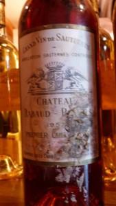 Château Rabaud-Promis 1957 – 1er Grand Cru Classé de Sauternes