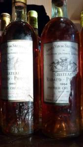 Château Rabaud-Promis 1964 – 1er Grand Cru Classé de Sauternes