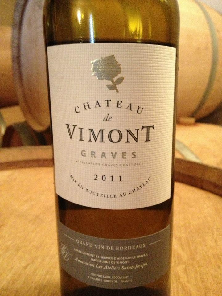 Château de Vimont 2011 – Graves (white)