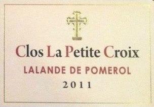 Clos La Petite Croix 2011 – Lalande de Pomerol