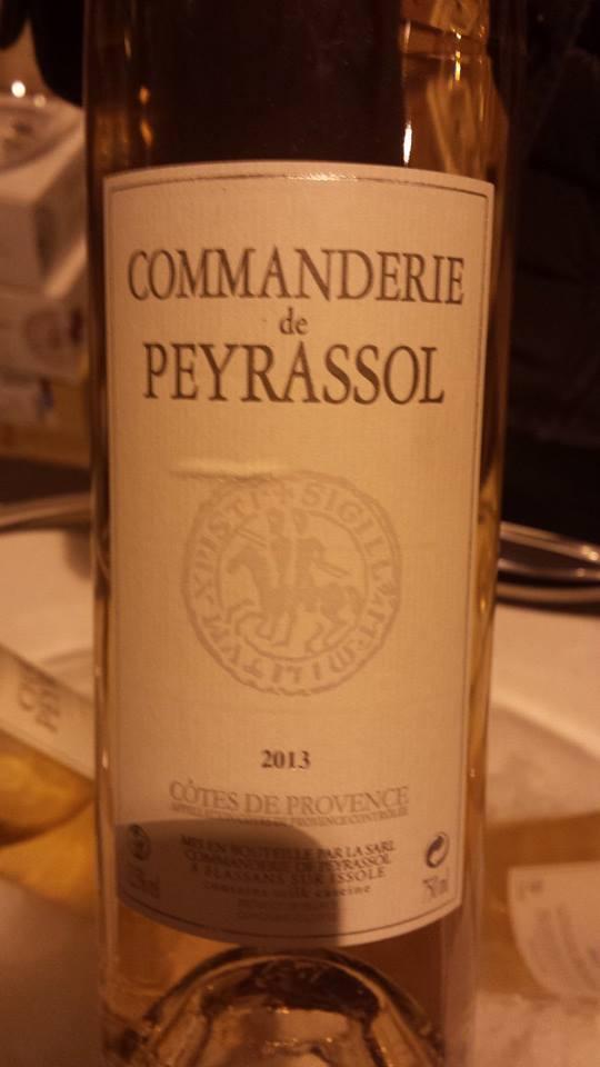 Commanderie de Peyrassol 2013 – Côtes de Provence
