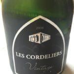 Les Cordeliers – Vintage 2008 – Crémant de Bordeaux – Brut (blanc de blancs)