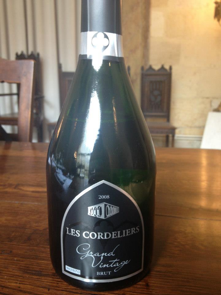 Les Cordeliers – Grand Vintage 2008 – Crémant de Bordeaux – Brut (Blanc de Noirs)