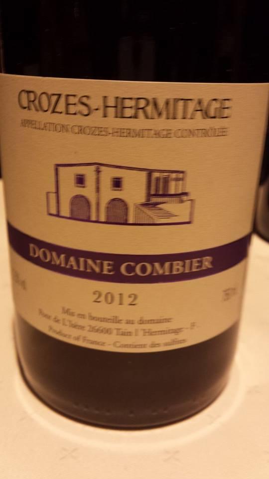 Domaine Combier 2012 – Crozes-Hermitage