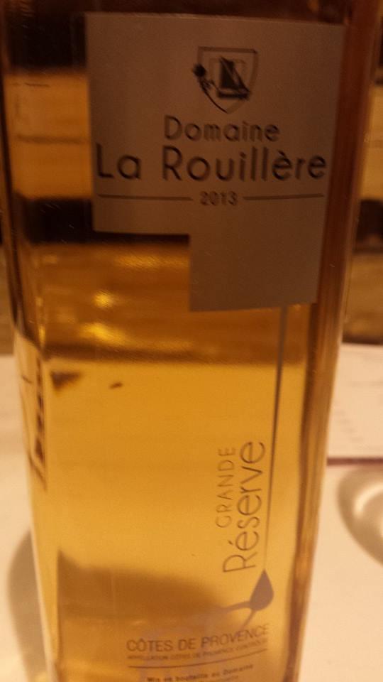 Domaine de la Rouillère – Grande Réserve 2013 – Côtes de Provence