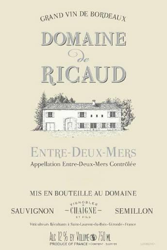 Domaine de Ricaud 2010 – Entre-deux-mers