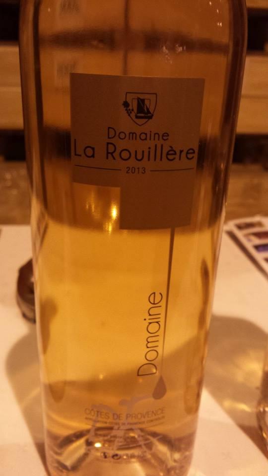 Domaine de la Rouillère 2013 – Côtes de Provence