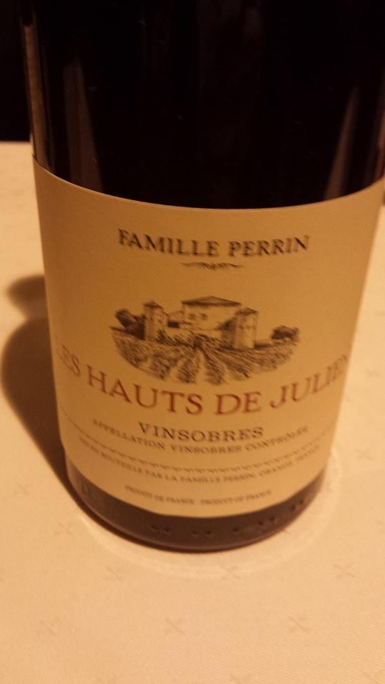 Famille Perrin – Les Hauts de Julien 2009 (Vieilles Vignes) – Vinsobres