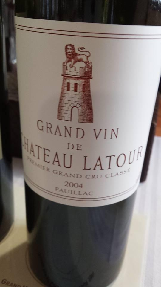 Grand Vin de Château Latour 2004 – 1er Cru Classé de Pauillac