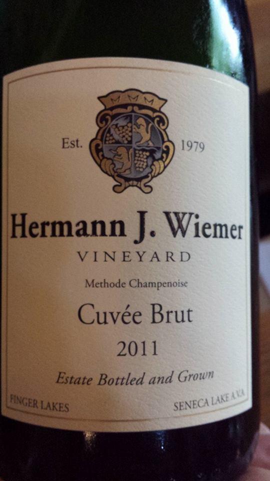 Hermann J. Wiemer Vineyard – Cuvée Brut 2011 (Méthode Champenoise) – Finger Lakes