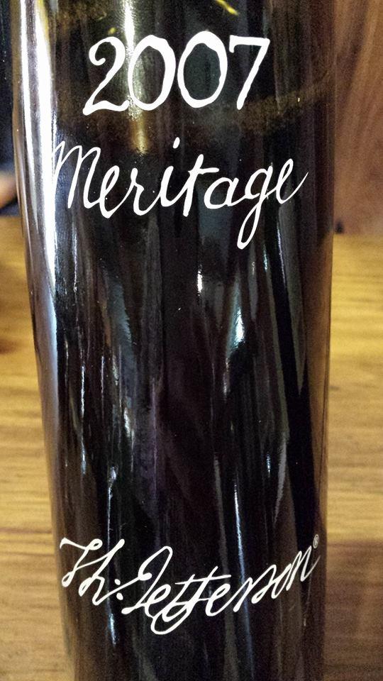 Jefferson Vineyards – Meritage 2007 – Monticello
