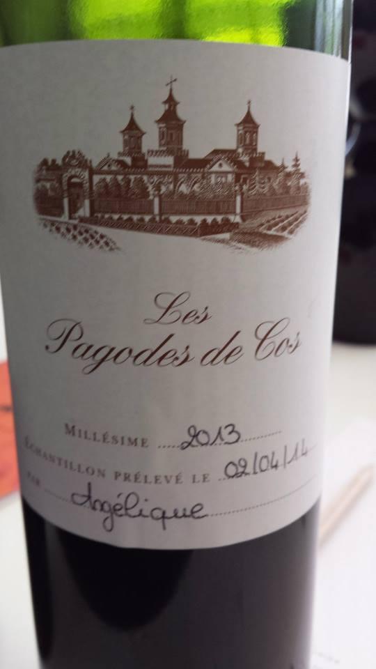 Les Pagodes de Cos 2013 – 2nd Vin de Cos d'Estournel – Saint-Estèphe