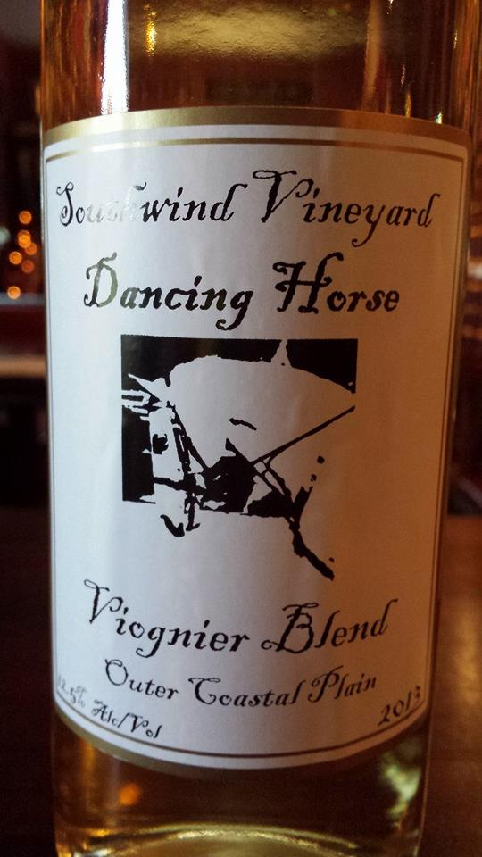 Southwind Vineyard – Dancing Horse 2013 – Outer Coastal Plain