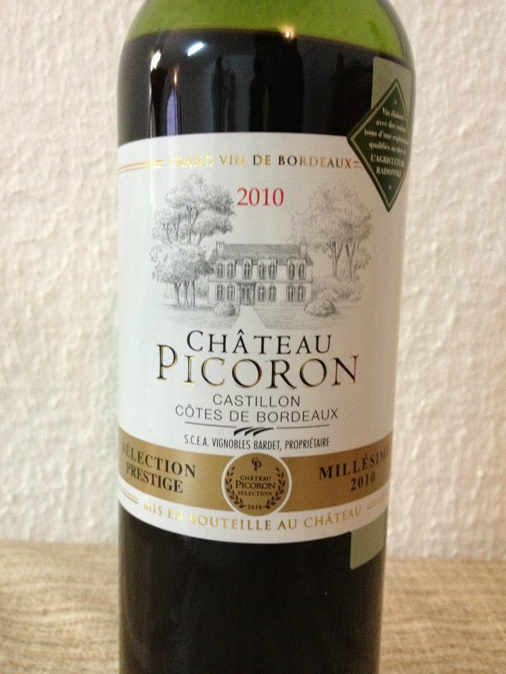 Château Picoron 2010 – Castillon Côtes de Bordeaux