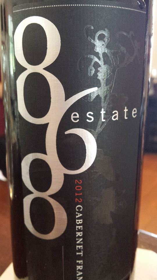 868 Estate Vineyards – Cabernet Franc 2012 – Virginia
