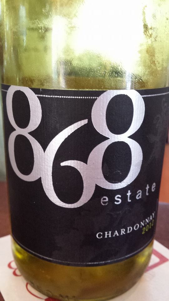 868 Estate Vineyards – Chardonnay 2012 – Virginia