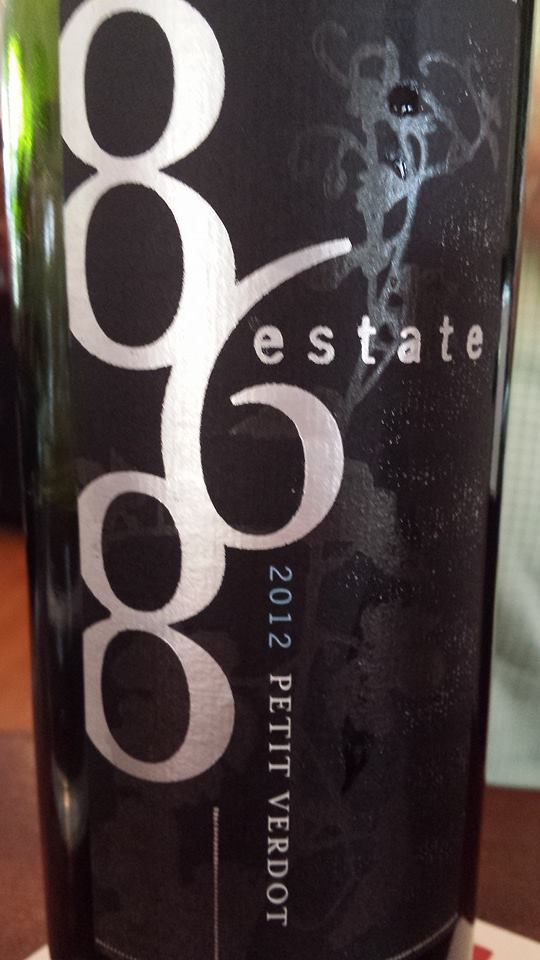 868 Estate Vineyards – Petit Verdot 2012 – Virginia