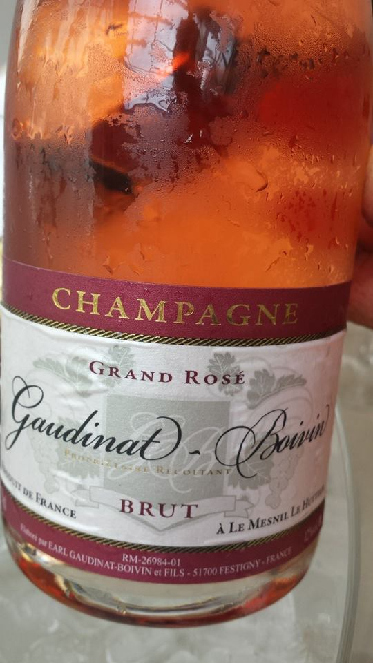 Champagne Gaudinat-Boivin – Grand Rosé – NV