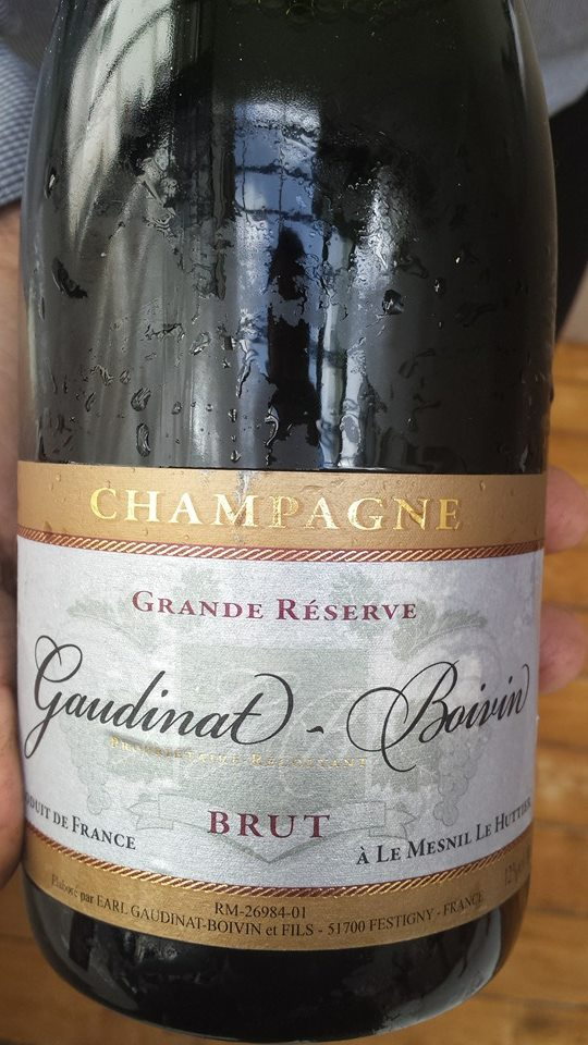Champagne Gaudinat-Boivin – Grande Réserve – Brut – NV