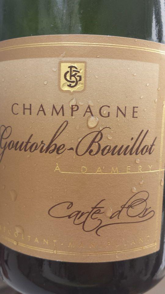 Champagne Goutorbe-Bouillot – Carte d'Or – Brut – NV