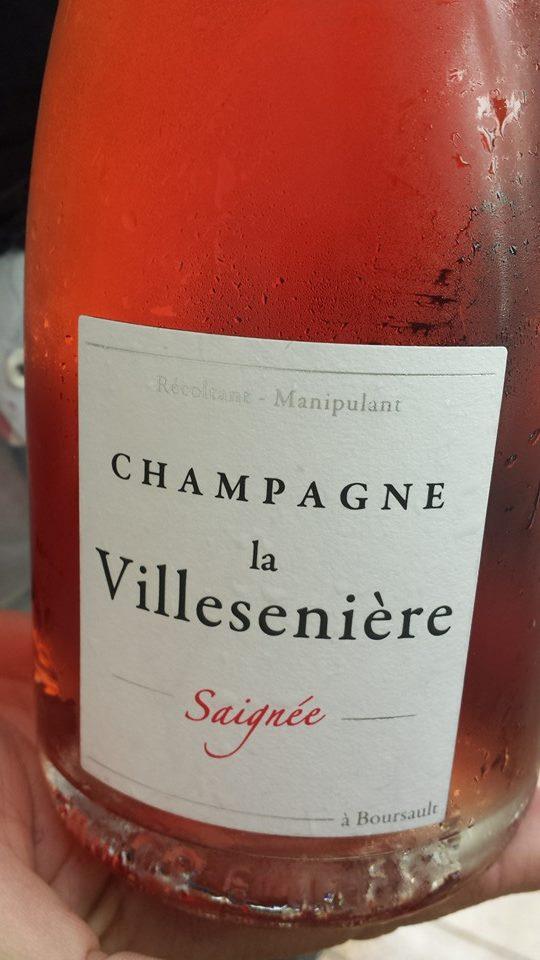 Champagne la Villesenière – Saignée (Rosé) – NV