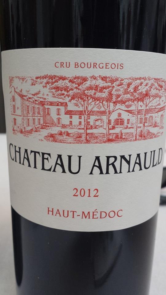 Château Arnauld 2012 – Haut-Médoc – Cru Bourgeois