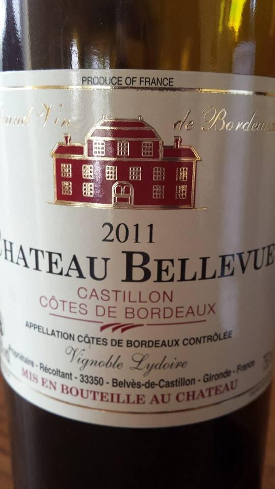 Château Bellevue 2011 – Castillon Côtes de Bordeaux