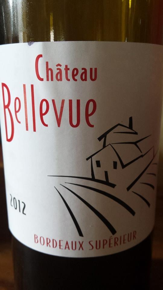 Château Bellevue 2012 – Bordeaux Supérieur