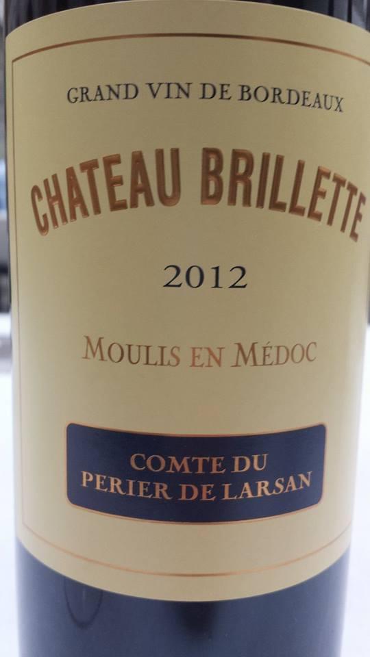 Château Brillette 2012 – Moulis-en-Médoc – Cru Bourgeois