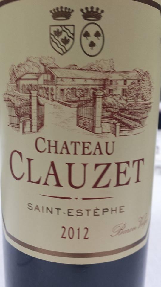 Château Clauzet 2012 – Saint-Estèphe – Cru Bourgeois
