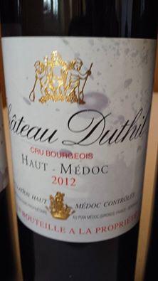 Château Duthil 2012 – Haut-Médoc – Cru Bourgeois