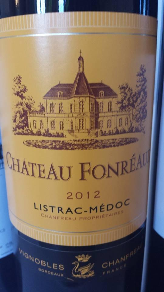 Château Fonréaud 2012 – Listrac-Médoc – Cru Bourgeois