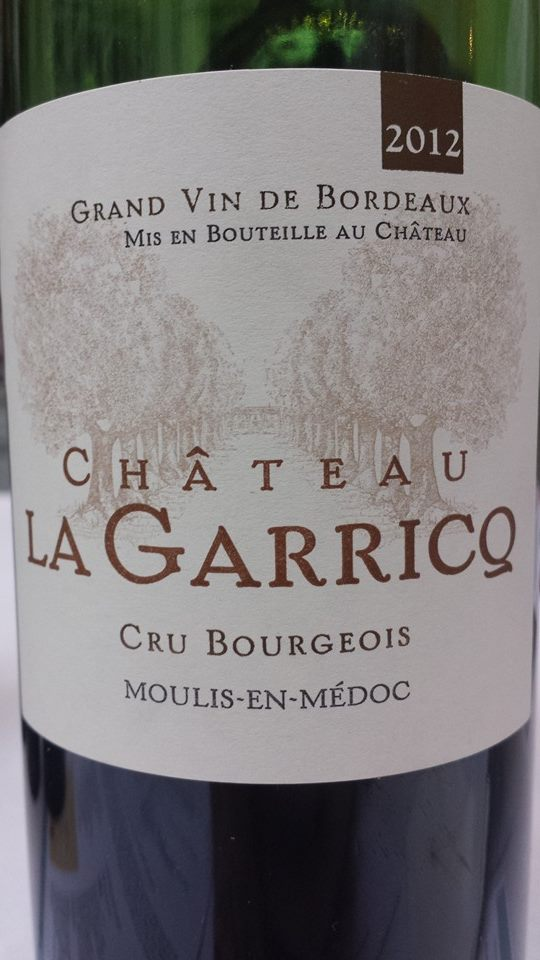 Château La Garricq 2012 – Moulis-en-Médoc – Cru Bourgeois