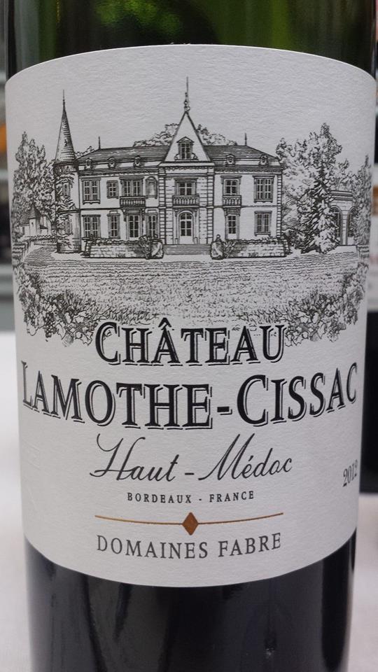 Château Lamothe-Cissac 2012 – Haut-Médoc – Cru Bourgeois