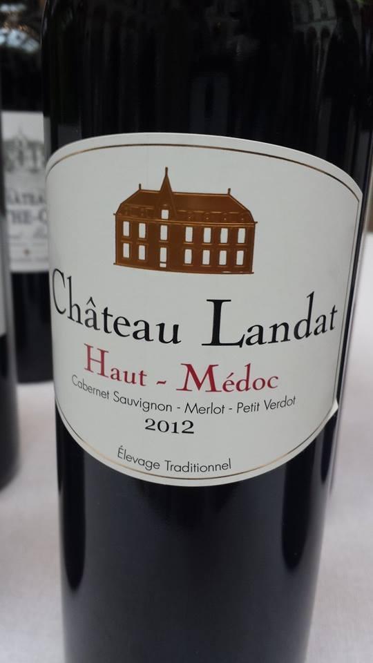 Château Landat 2012 – Haut-Médoc – Cru Bourgeois