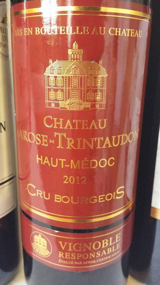 Château Larose-Trintaudon 2012 – Haut-Médoc – Cru Bourgeois