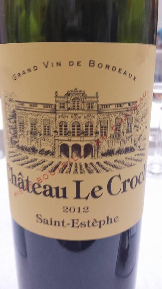 Château Le Crock 2012 – Saint-Estèphe – Cru Bourgeois