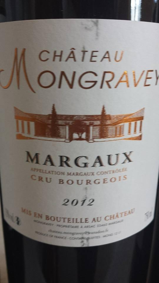 Château Mongravey 2012 – Margaux – Cru Bourgeois