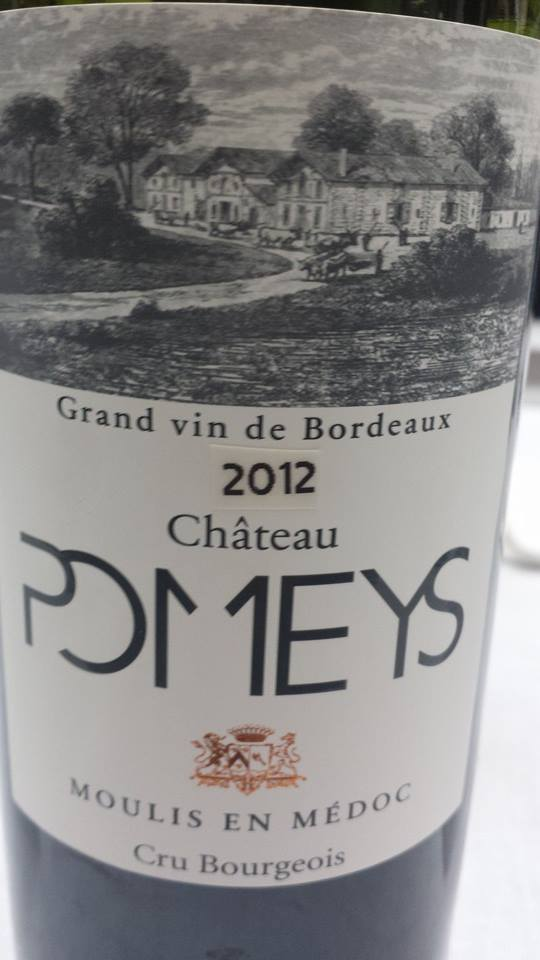 Château Pomeys 2012 – Moulis-en-Médoc – Cru Bourgeois