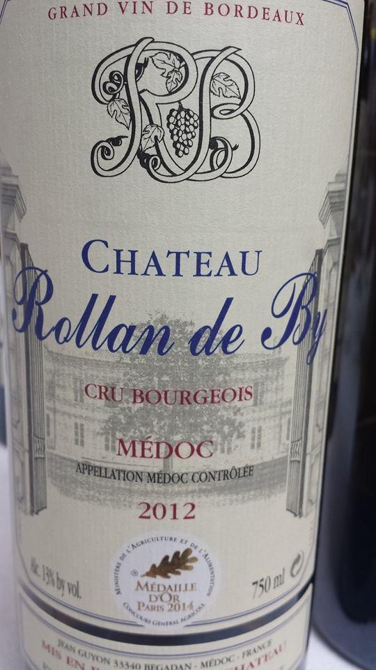 Château Rollan de By 2012 – Médoc – Cru Bourgeois