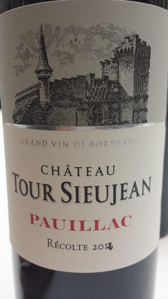 Château Tour Sieujan 2012 – Pauillac – Cru Bourgeois