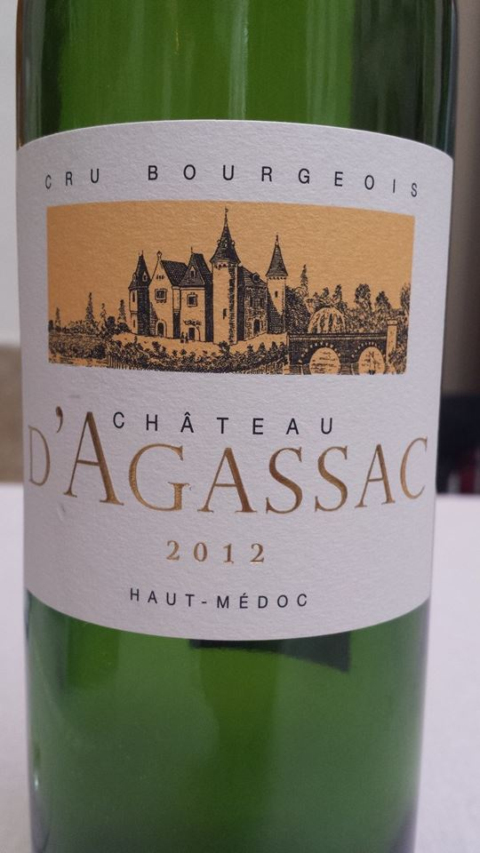 Château d'Agassac 2012 – Haut-Médoc – Cru Bourgeois