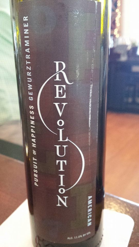 Revolution – Sweet 2011 – Pursuit of Happiness Gewurztraminer – American