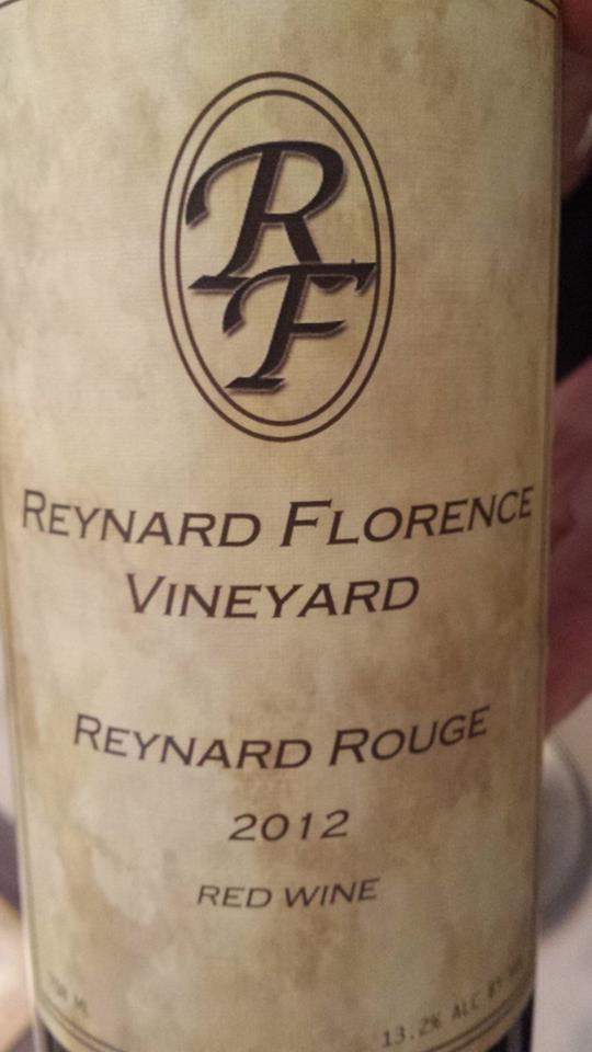 Reynard Florence Vineyard – Reynard Rouge 2012 – Virginia Red Wine