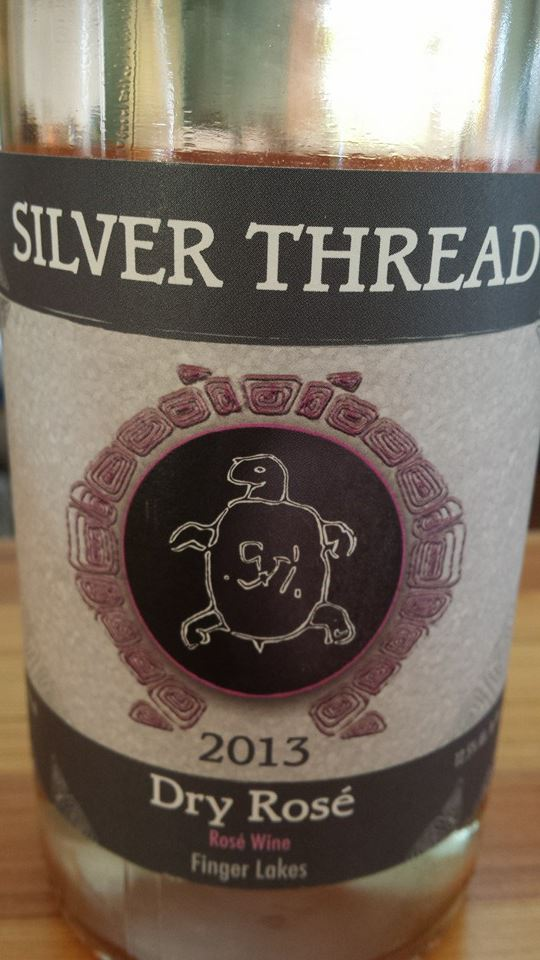 Silver Thread – Dry Rosé 2013 – Finger Lakes