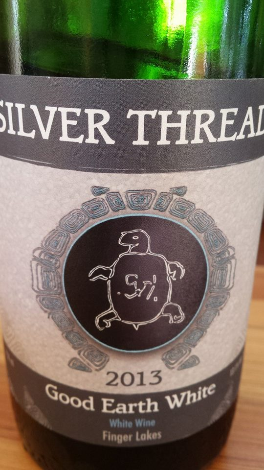 Silver Thread – Good Earth White 2013 – Finger Lakes